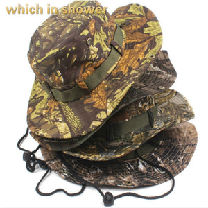 bionic bucket hat with string camo wide brim fishing hat women men large  brim outdoor hiking 5d876405c7a