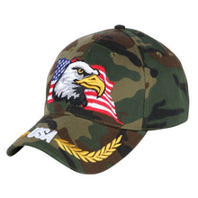 Load image into Gallery viewer, women men novelty Eagle hip hop snapback cap hat embroidery u flag pattern outdoor sports baseball caps girl boy unisex hats