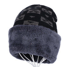 Load image into Gallery viewer, women's men's winter beanies cheap winter hat gorros skullies knitted plaid design solid thick warmer outdoor winter hats