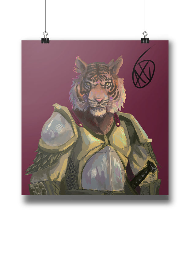 Tiger Lannister Poster:Wildoy
