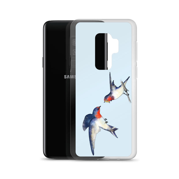 Swallow Mother And Baby Samsung Case