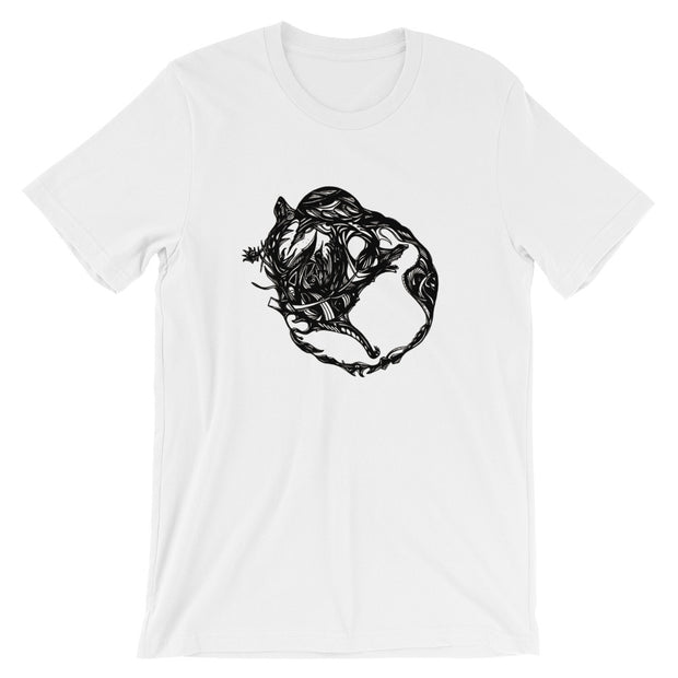 Abstract Circle T-Shirt:Wildoy