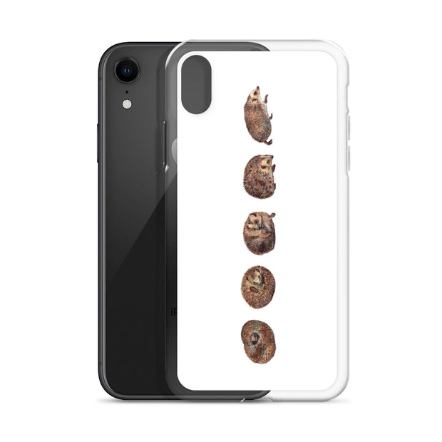 Hedgehogs iPhone Case