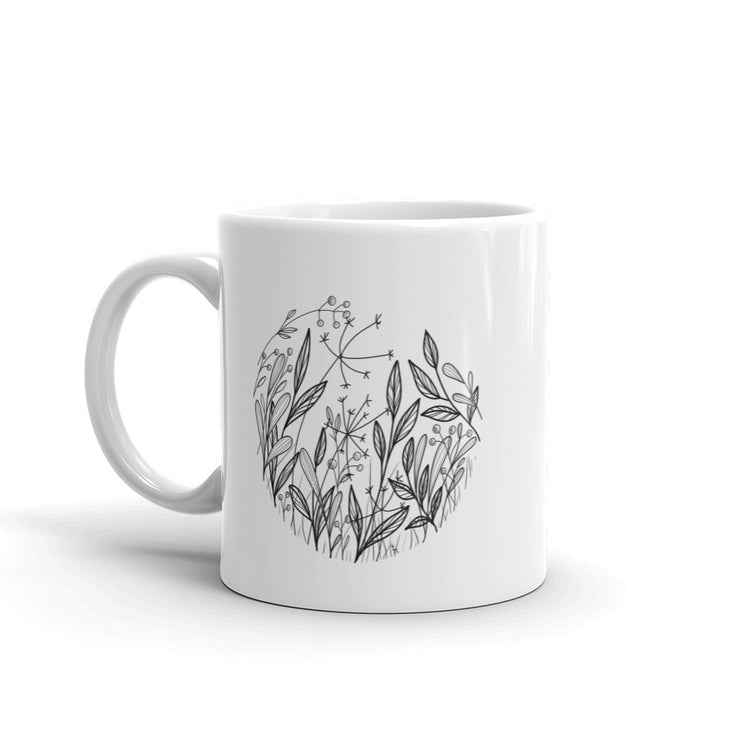 Composition With Wildflowers Mug