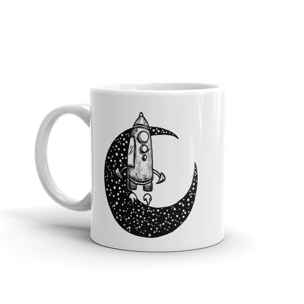 Moon Spaceship Mug