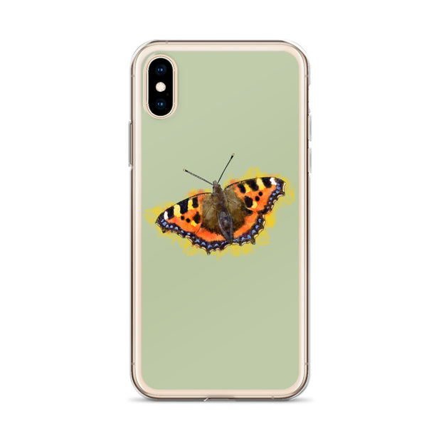 Tortoiseshell Butterfly iPhone Case:Wildoy