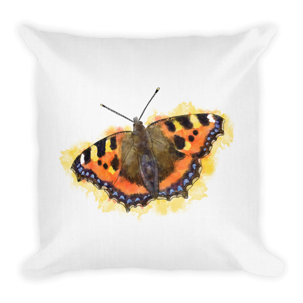Tortoiseshell Butterfly Pillow