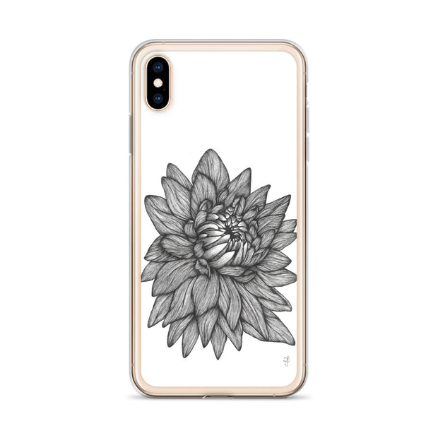 Dahlia iPhone Case:Wildoy
