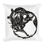 Abstract Circle Pillow:Wildoy
