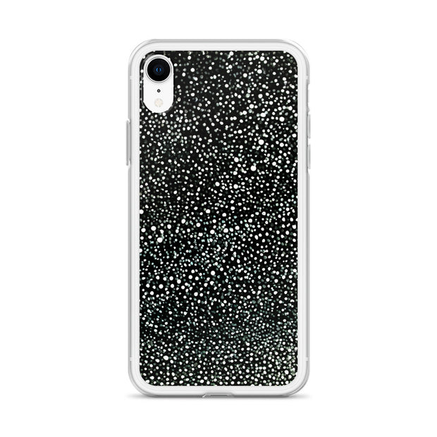 Black Dot iPhone Case:Wildoy