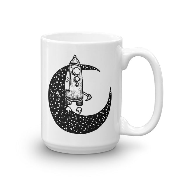 Moon Spaceship Mug:Wildoy