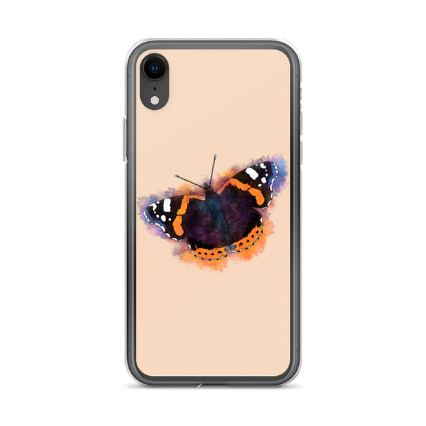 Red Admiral Butterfly iPhone Case:Wildoy