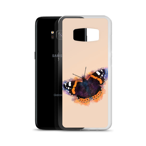 Red Admiral Butterfly Samsung Case