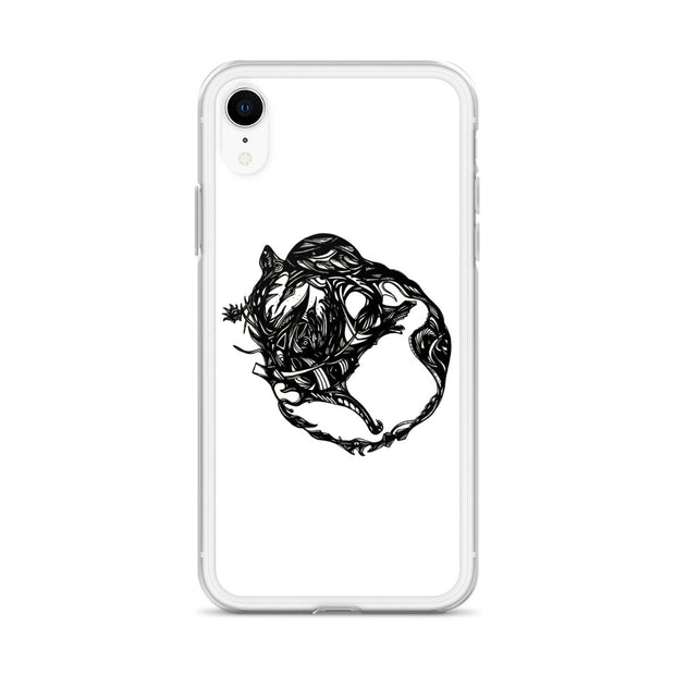 Abstract Circle iPhone Case:Wildoy