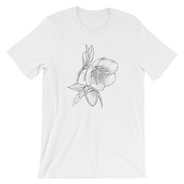 Drawing Of Hellebore T-Shirt
