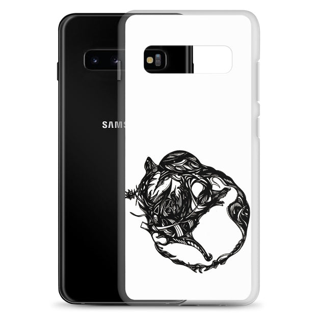 Abstract Circle Samsung Case:Wildoy