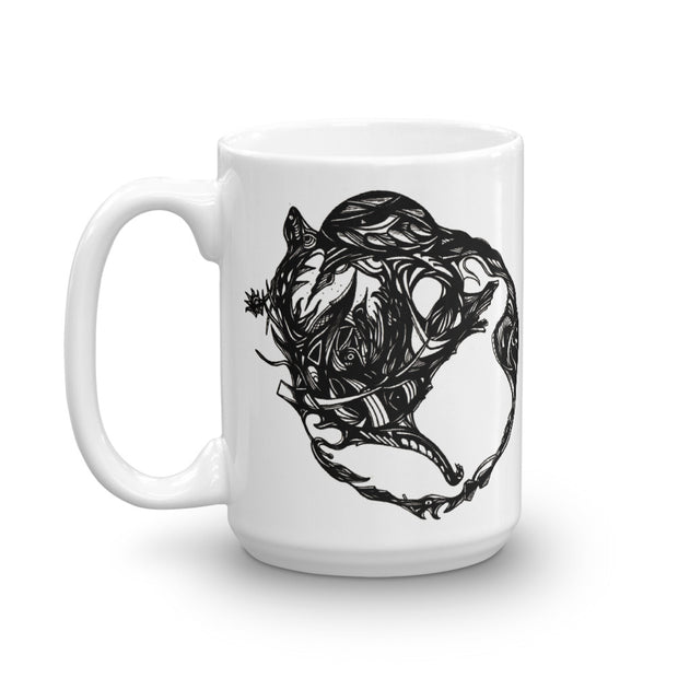 Abstract Circle Mug:Wildoy
