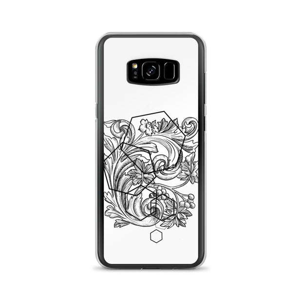 Acanthe And Geometric Shapes Samsung Case