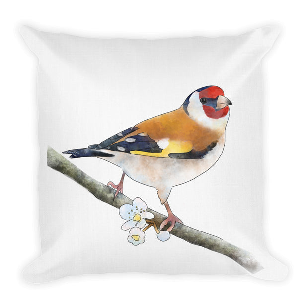 Lesser Bird Of Paradise Pillow:Wildoy