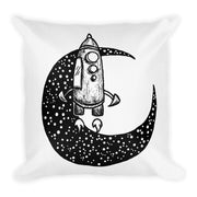 Moon Spaceship Pillow