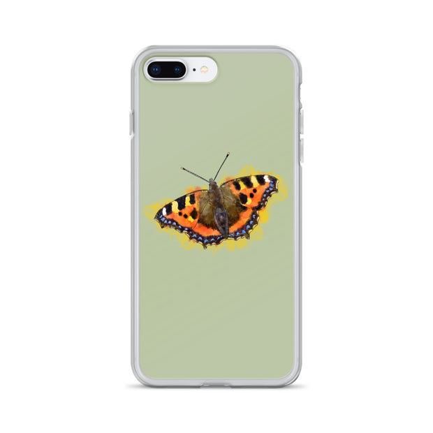 Tortoiseshell Butterfly iPhone Case