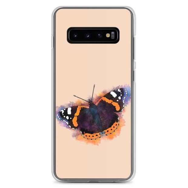 Red Admiral Butterfly Samsung Case:Wildoy