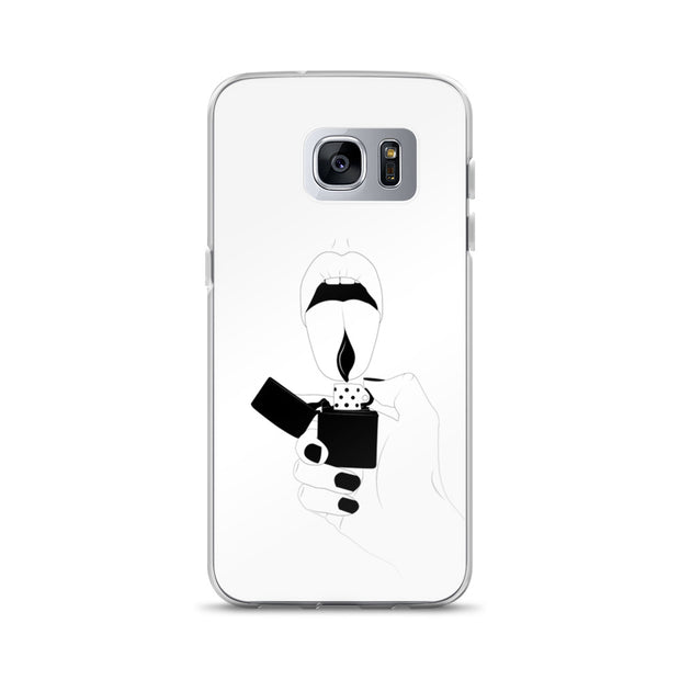 Fire Samsung Case