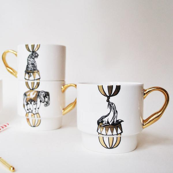 Circus Stacking mugs