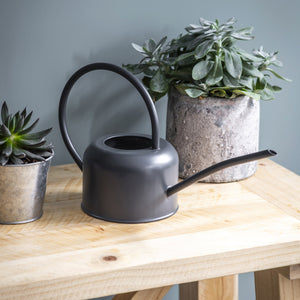 Grey Galvanised Indoor Watering Can