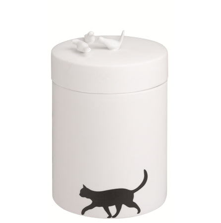 "Porcelain ""Cat"" Storage Jar"