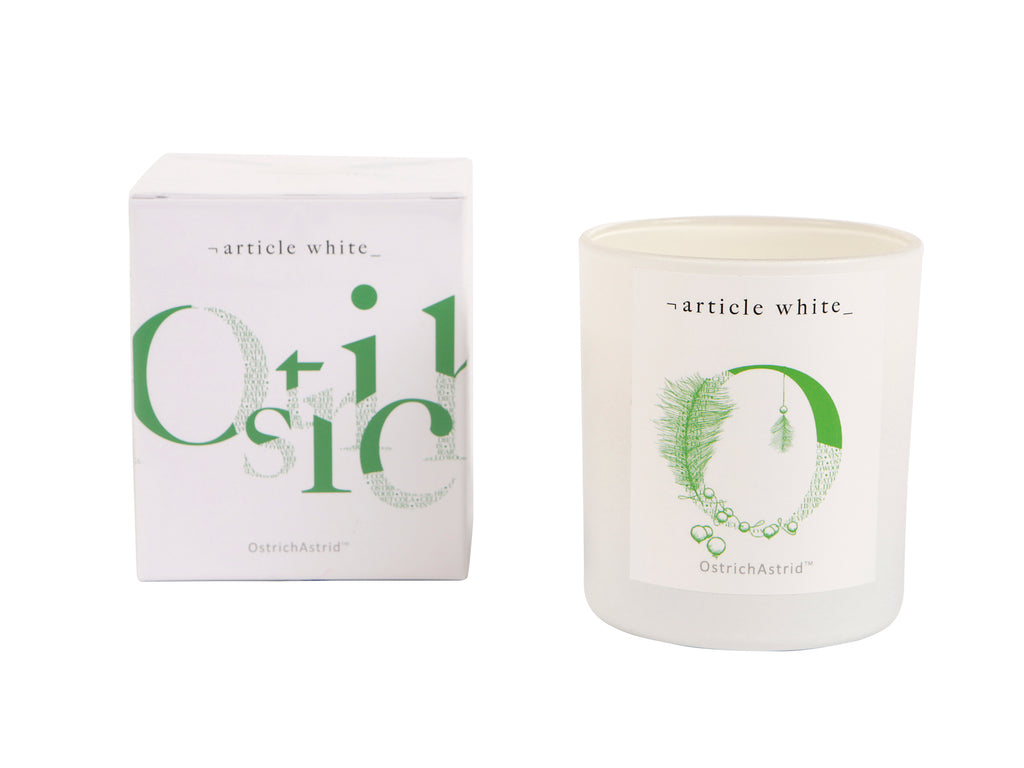 Ostrich Astrid Artisan Scented Candle