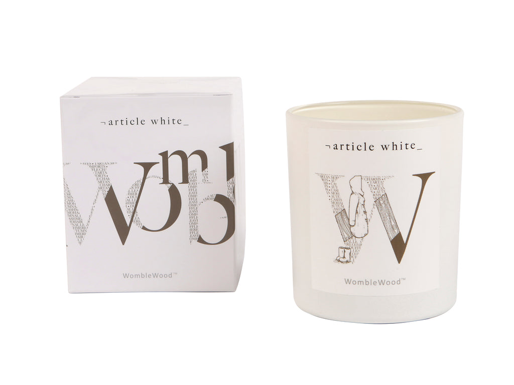 WombleWood Artisan Scented Candle