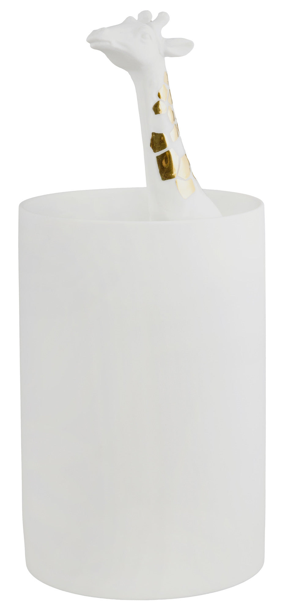 White Giraffe Vase by Rader