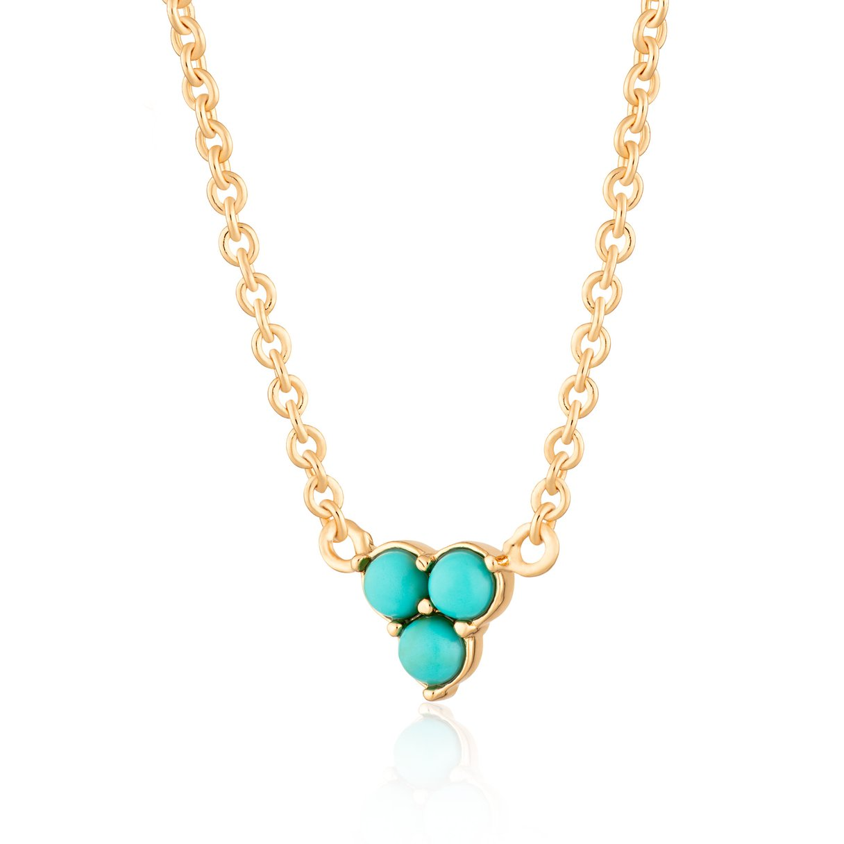 Turquoise Trinity Necklace