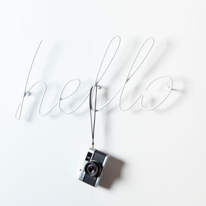 Hello - Coat Rack - White