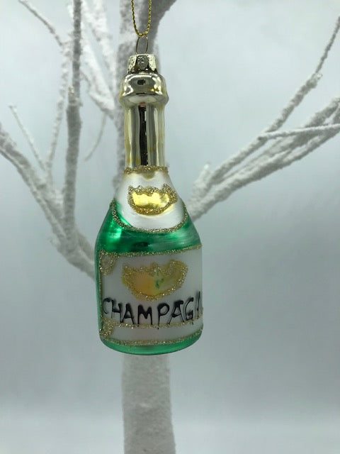 Champagne Christmas Decoration