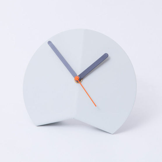 Origami Desk Clock - White