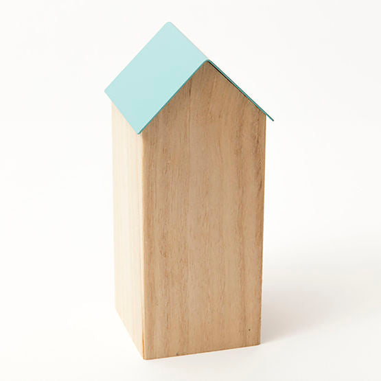 Large Storage House Box - Blue