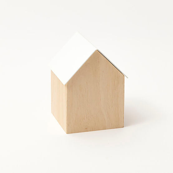 Small Storage House - White