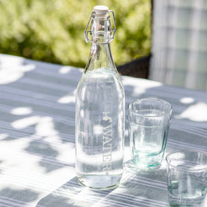 Glass Tap Water Bottle - Large