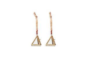 Tiny Kiko Triangular Decorations - Set of 2