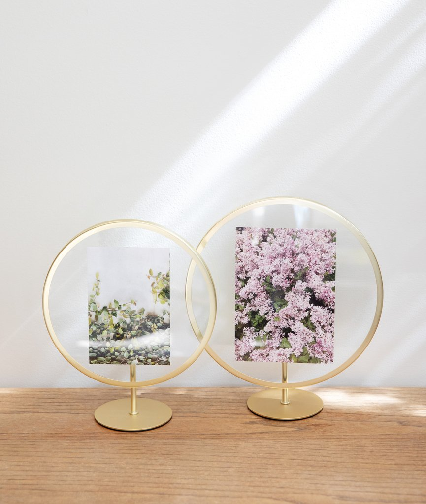 Infinity Photo Frame - Brass