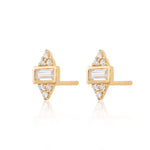 Audrey Stud Earrings - Gold