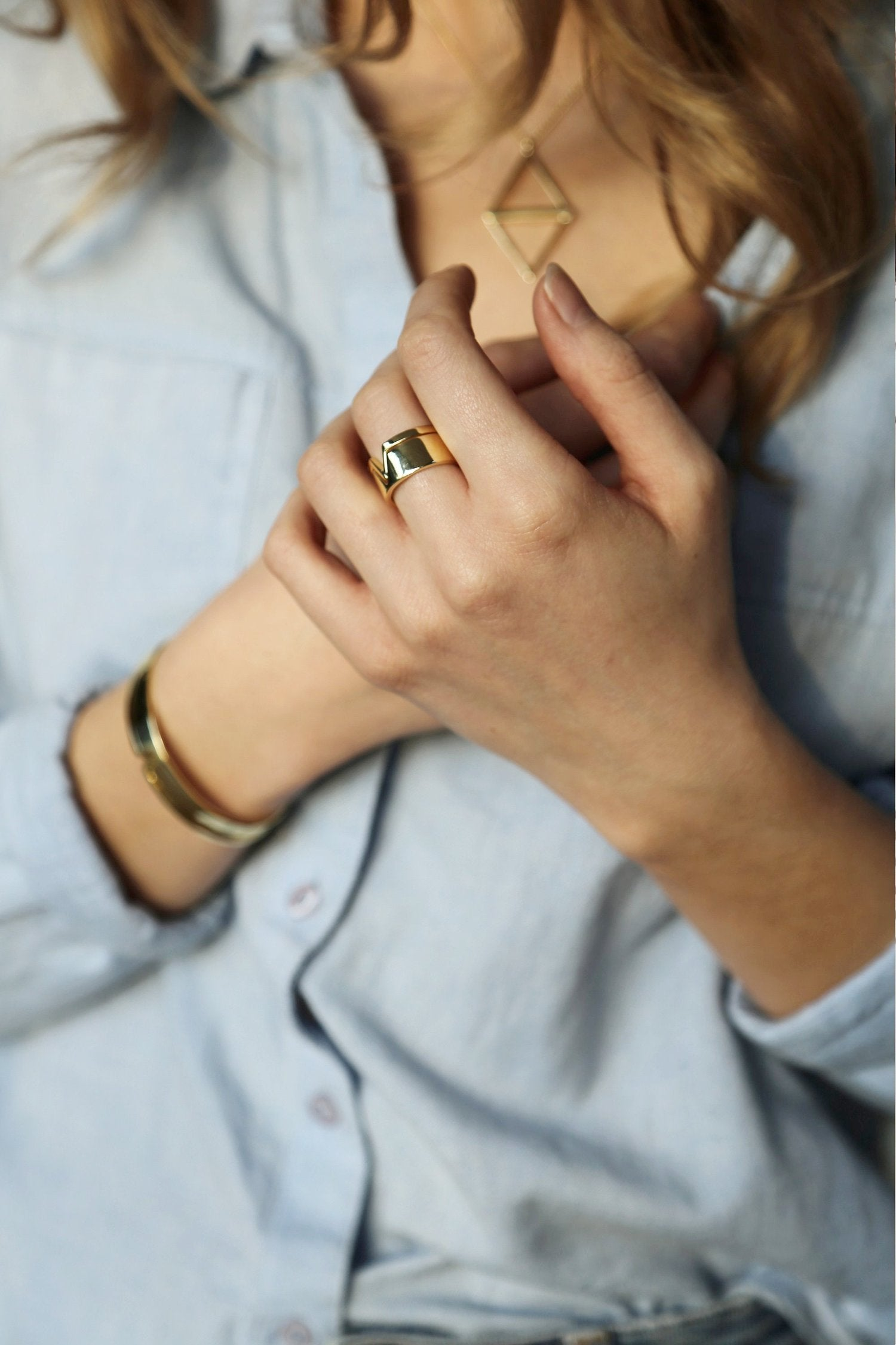 Lia Rings - Gold