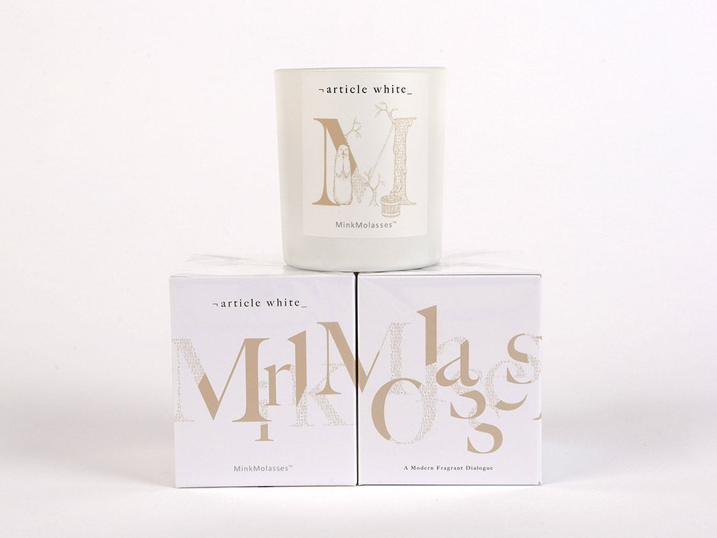 Mink Molasses Artisan Scented Candle