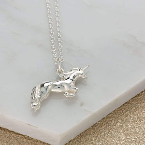 Unicorn Necklace - Silver