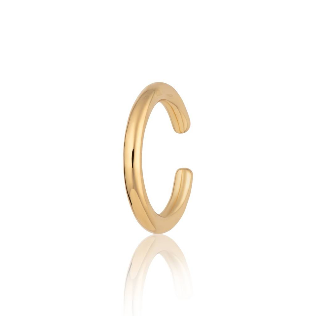 Scream Pretty Gold Plated Ear Cuff