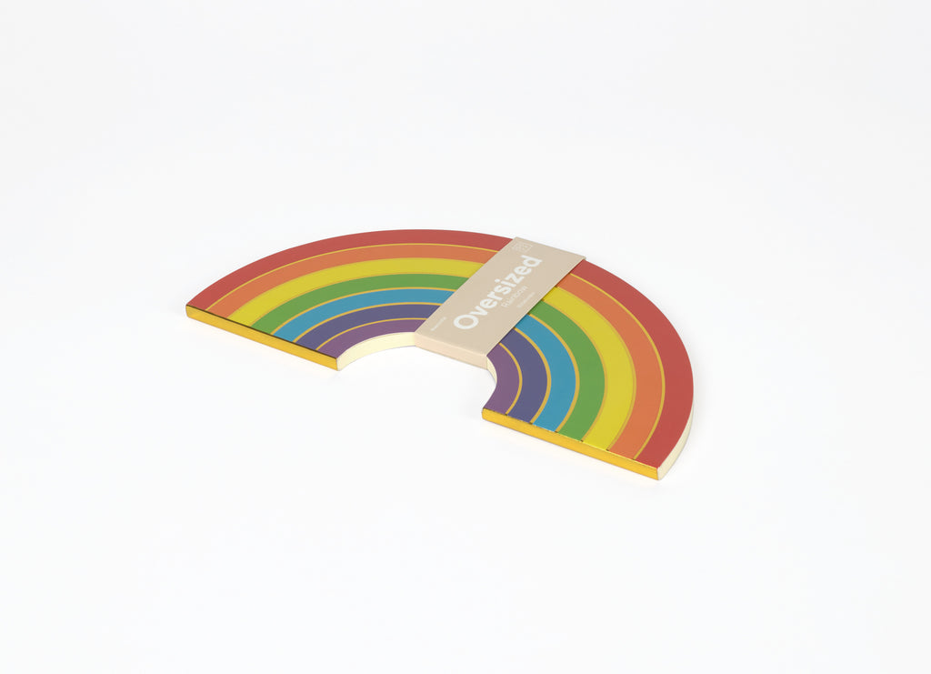 Oversized Rainbow Notebook