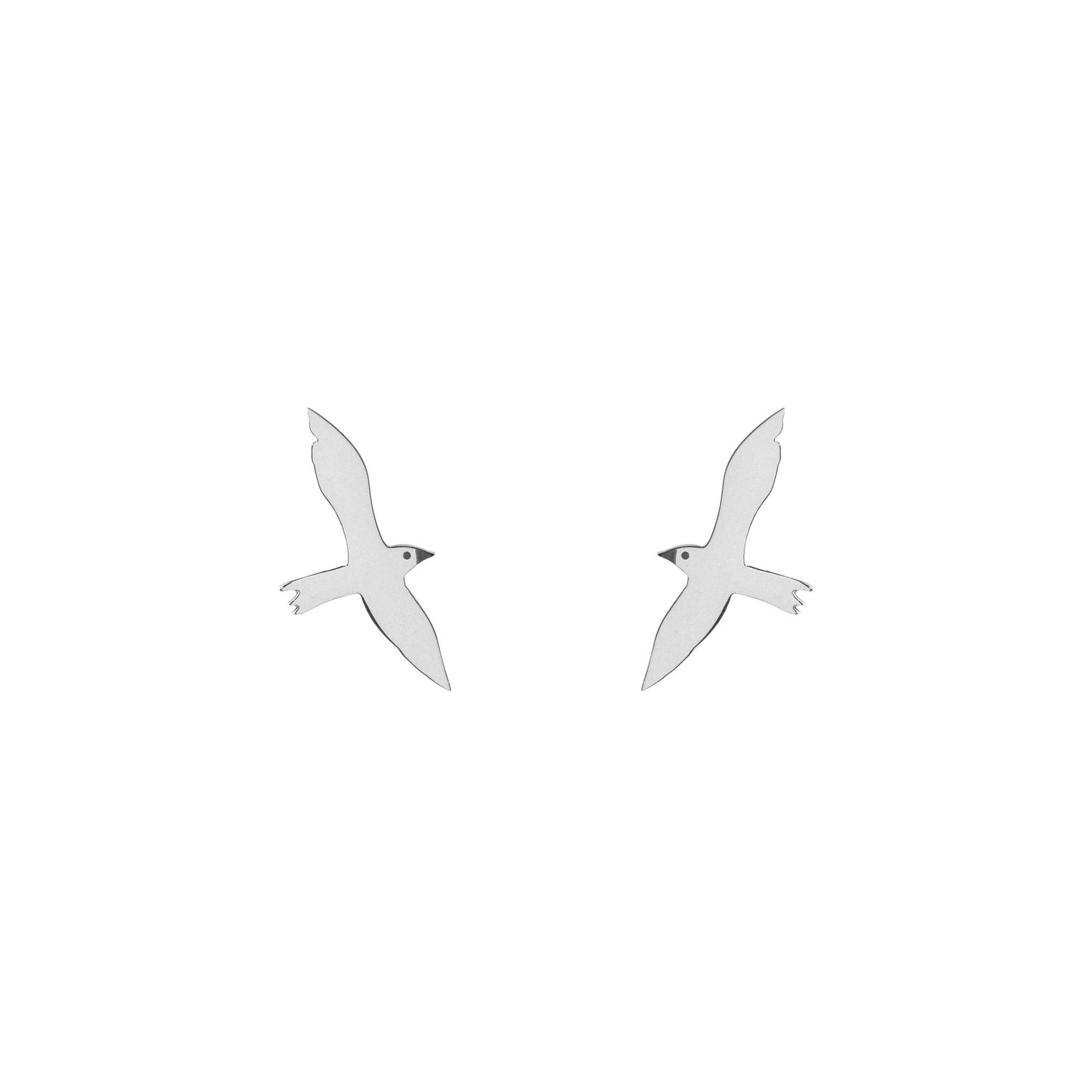 Seagull Stud Earrings