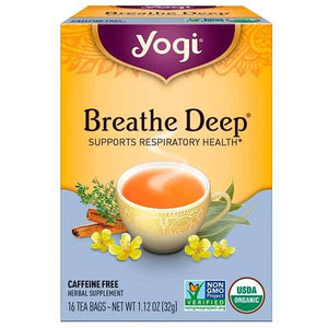 Yogi Tea - Breathe Deep Tea Bags x16